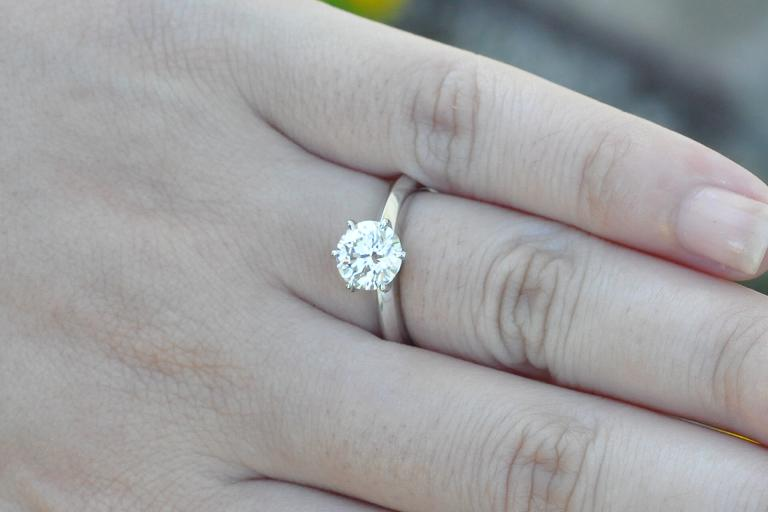 Tiffany Engagement Rings On Hand