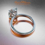 Brian Gavin's Grace Solitaire Engagement Ring