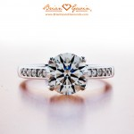 Mimi's 1.65 ct Brian Gavin Select Diamond