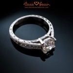 Jermaine's Magnificent Hand Engraved Ring