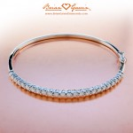 Another View of the Diamond Bangle