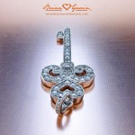 Another View of the Finished Diamond Key