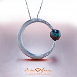 Trina's Magnificent Tahitian Pearl and Diamond Pendant