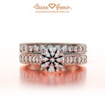 "Saylom's Matching Set with ""Milgrain"" Accent"