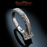 Jermaine's Magnificent Hand Engraved Engagement Ring