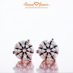 2 carat total weight Brian Gavin Signature H & A diamonds