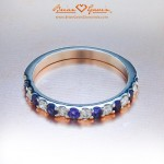 Brian Gavin Signature Melee and Amethyst Band