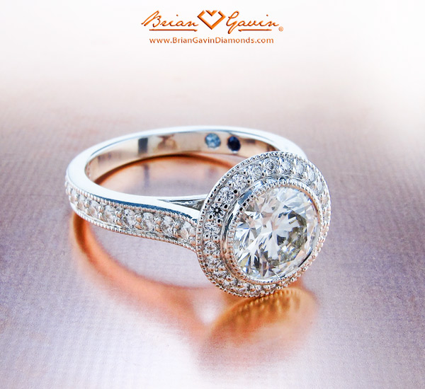 """The """"Halo"""" Engagement Ring"""