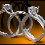 3-D Rendering of the Ring Set