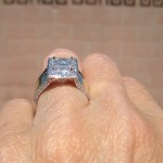 Brian Gavin's Customer is Thrilled with her Diamond Recut and Custom Ring Reset…
