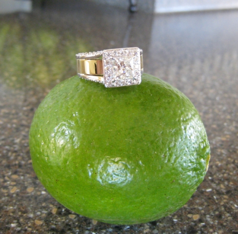 The Ring on a Lime