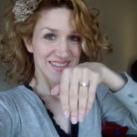 Cheyne Showing off her Beautiful New Brian Gavin Ring