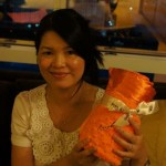 Khanh and Her New Brian Gavin Signature Baby Blankee