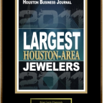 Brian Gavin Diamonds Ranks #10 on 2011 HBJ list of Houston Jewelers