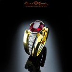 Brian Gavin Designer Two Tone Ring