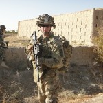 Jason in his Military Uniform in Afghanistan
