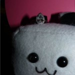 Tommy's Proposal Pictures Featuring his Brian Gavin Custom Pear Shape Halo Ring