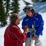Ski Slope Proposal With Brian Gavin's Split Shank Rope Solitaire Diamond Engagement Ring…