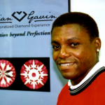 Carl Lewis, 9 time Olympic Gold Medalist, wearing his Brian Gavin Diamond Earrings