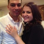Mark and Ashleigh ~ Newly Engaged with her Brian Gavin RIng