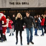 Jeff and Kayla Skating at Rockefeller Center