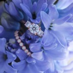 Jessica's 18K Rose Gold Rings by Brian Gavin