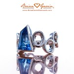 Custom Platinum Designer Ring by Brian Gavin