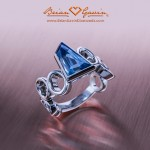 Custom Platinum Ring by Brian Gavin