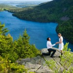 Customer Plans Surprise Proposal on Gorgeous Hilltop in Maine with a Brian Gavin Diamond Engagement Ring