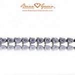 Brian Gavin's 3 Prong Diamond Tennis Bracelet