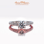 The Gorgeous 1.006 ct Brian Gavin Signature Hearts and Arrows Round Diamond