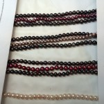 Color Options for Danielle's 3 Row Pearl Necklace from Brian Gavin