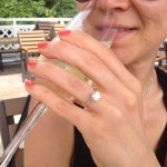 Happy Customer Proposes in Hong Kong With a Brian Gavin Diamond Engagement Ring