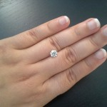 Canadian Customer is Wowed by her Brian Gavin Signature Blue Diamond