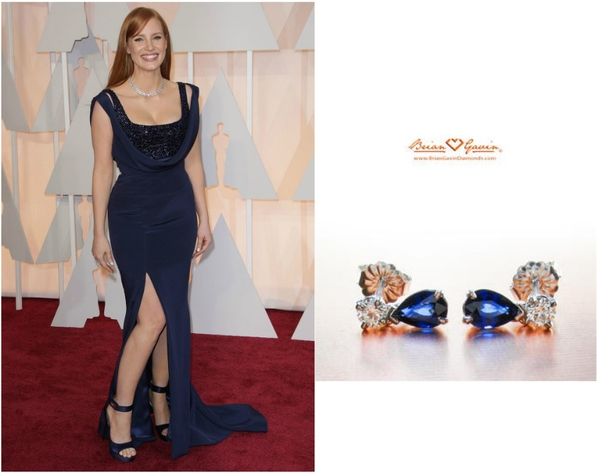 Jessica Chastain's Oscars 2015 Look