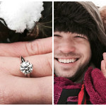 Brian Gavin Diamonds Customer Proposes on Valentine's Day