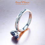 Brian Gavin Signature Scattered Truth Ring in  White Gold