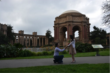 Jack and Audry's San Francisco Proposal