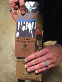 Amber and Bryan's Chocolate Factory Proposal
