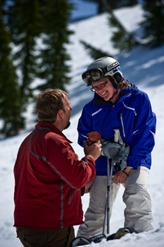 Demetri and Jodi's Proposal on the Slopes