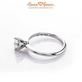 Classic Style Half Round Solitaire