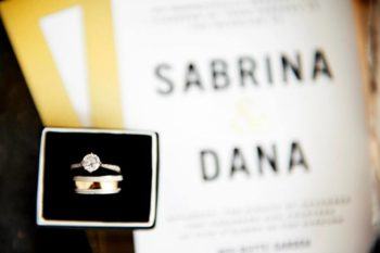 Sabrina & Dana's Wedding - Brian Gavin Diamonds