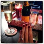Sabrina's Brian Gavin Diamonds Valentine Micro Pave Engagement Ring