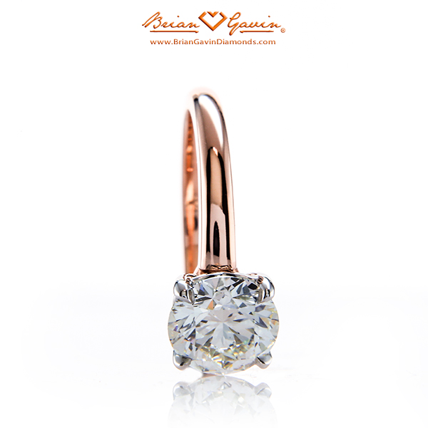 New Truth Solitaire BGD Engagement Ring set in 18K rose gold