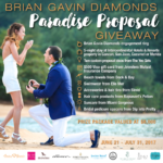 Win a BGD Engagement Ring in Our Paradise Proposal Giveaway
