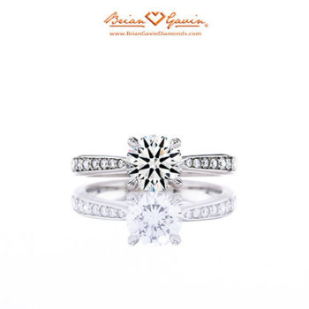 BGD White Gold Engagement Ring