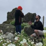 corey beth and brandon - proposal
