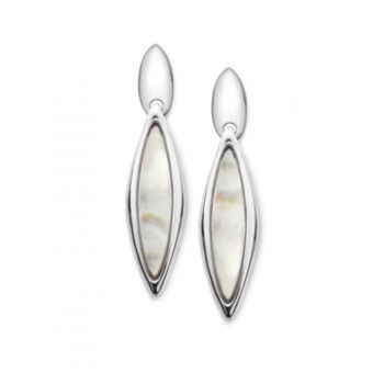 Marquise Earrings Mother of Pearl