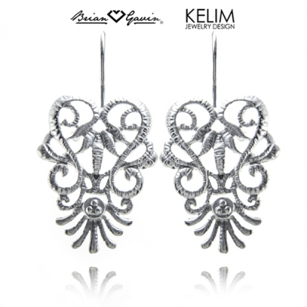 Baroque Lace Earrings