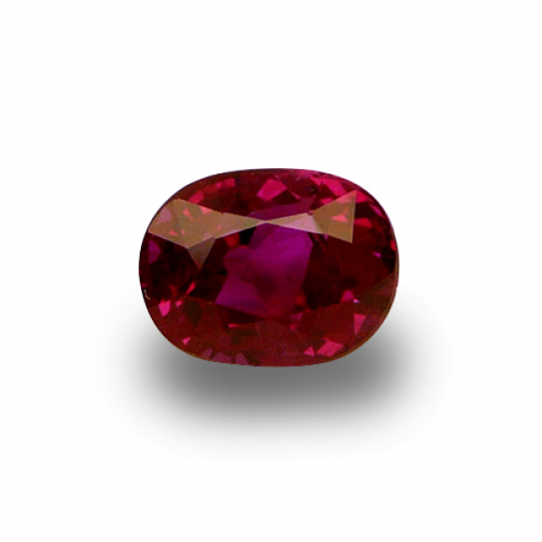 2.03 ct Oval Red Ruby
